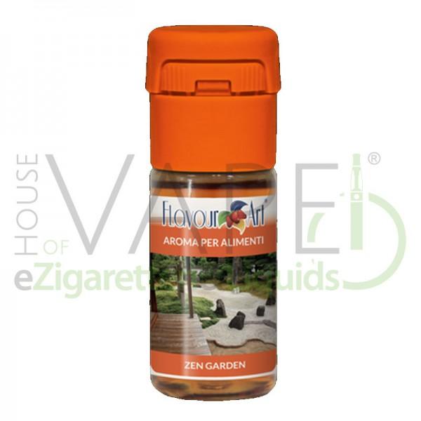 Zen Garden von FlavourArt ♥ Feinwürzig, leicht blumig, leicht pfeffrig ✔ Schneller Versand ✔ 2-6% Dosierung bei 2-5 Tag Reifezeit ✔