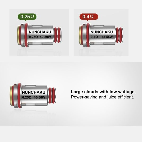 Nunchaku Kerne von UWell ♥ 4er-Pack ✔ Verschiedene Versionen ✔ Original ✔ Auch in unseren Shops ✔ Schneller Versand ✔