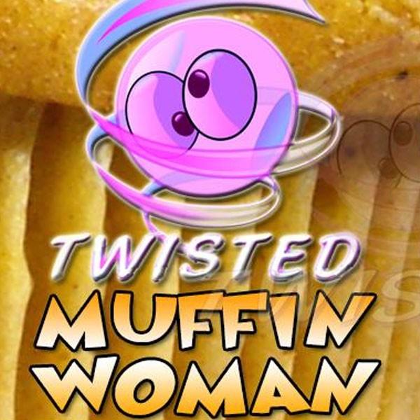 Muffin Woman Aroma von Twisted Vaping ♥ Apfel, Kuchen, Zimt ✔ 3-6% Dosierung ✔ Auch in unseren Shops ✔ Ab 50€ versandkostenfrei ✔
