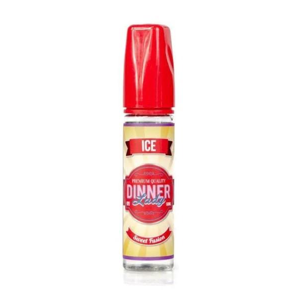 Sweet Fusion Ice Liquid von Dinner Lady ♥ Fruchtige, erfrischende Kaubonbons ✔ 50ml Shortfill ✔