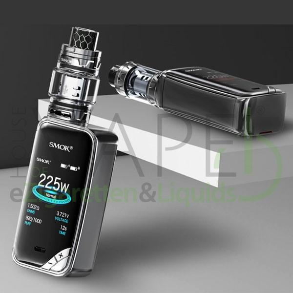 Smok X-Priv StarterSet ♥ Inkl. Smok TFV12 Prince ✔ 225 Watt ✔ Großes Display ✔ Kostenloser Versand ✔ Auch in unseren Shops ✔