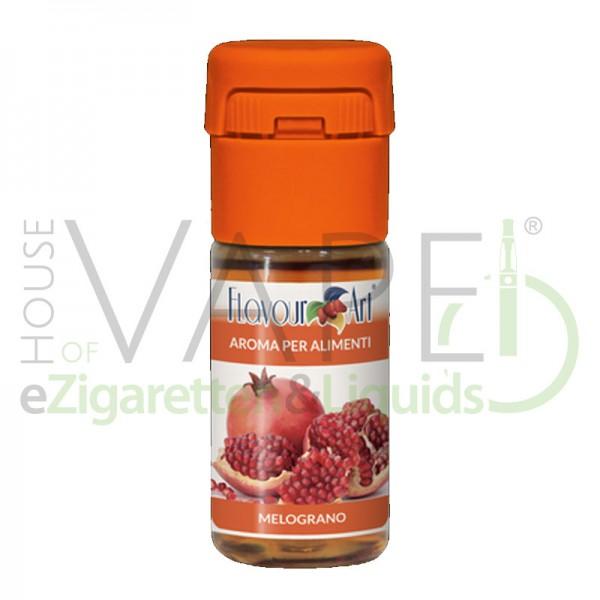 Granatapfel von FlavourArt ♥ Fruchtig-süß ✔ Schneller Versand ✔ 2-6% Dosierung bei 2-5 Tag Reifezeit ✔