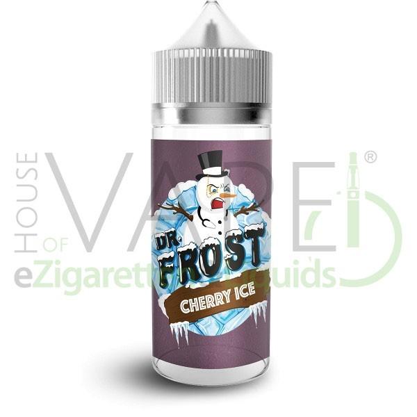 Cherry Ice Liquid von Dr. Frost ♥ 100ml Shortfill ✔ Kirsche, Koolada ✔ Schneller Versand ✔ ab 50 Euro versandkostenfrei ✔