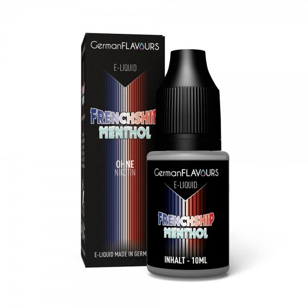 GermanFlavours Liquid Frenchship (mit Menthol)