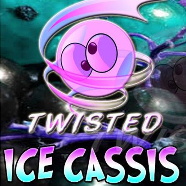 Ice Cassis Aroma von Twisted Vaping ♥ Cassis, Beeren, Menthol ✔ 8-13% Dosierung ✔ Auch in unseren Shops ✔ Ab 50€ versandkostenfrei ✔