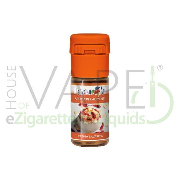 Bavarian Cream (Bayrische Creme) von FlavourArt ♥ Vanille mit lockerer, süßer Sahne ✔ Schneller Versand ✔ 5% Dosierung bei 3-5 Tag Reifezeit ✔