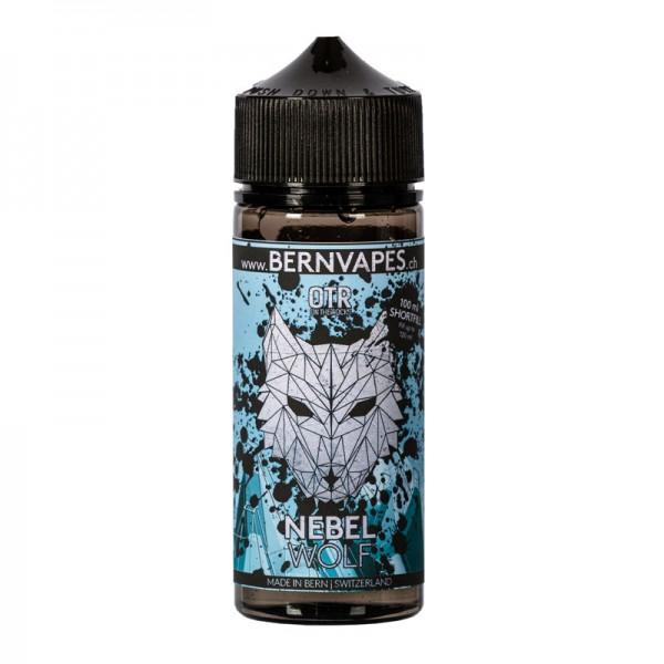 Nebelwolf OTR Liquid von Bernvapes Bergtiere ♥ Apfelmus, Traube, Edelweiss, Koolada ✔ 100ml mit 70VG/30PG ✔