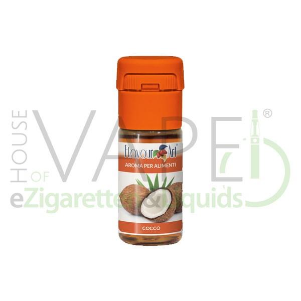 Kokosnuss von FlavourArt ♥ Knaickig frisch ✔ Schneller Versand ✔ 2-6% Dosierung bei 2-5 Tag Reifezeit ✔ Ab 50€ Versandkostenfrei ✔
