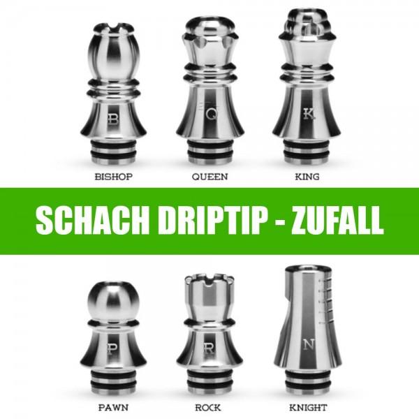 Prämienartikel Schach DripTip silber ( Zufall )