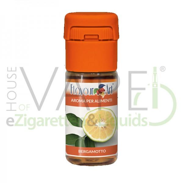 Bergamotte von FlavourArt ♥ Zitronig frisch ✔ Schneller Versand ✔ 2-6% Dosierung bei 2-3 Tag Reifezeit ✔