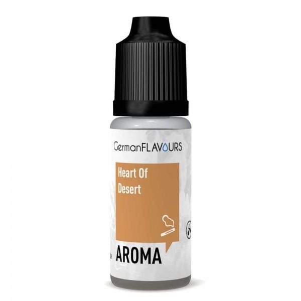 Heart of Desert Aroma von GermanFlavours ♥ Nussiger Tabak ✔ Jetzt in unseren Geschäften testen ✔ 3% Dosierung ✔ Schneller Versand