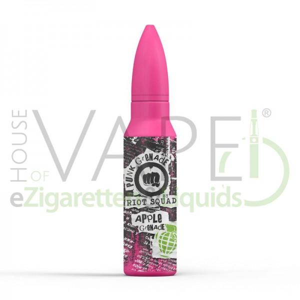 Apple Grenade Liquid von Riot Squad ♥ Apfel, Zitronenlimonade ✔ Longfill ✔ 15ml ✔ Punk Grenade Serie ✔