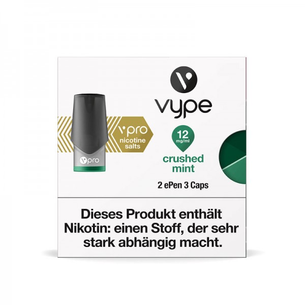 Vype ePen 3 vPro Caps Crushed Mint 2er Pack