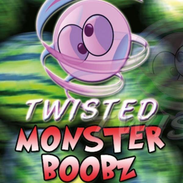 Monster Boobz Aroma von Twisted Vaping ♥ Melone, Mango + X ✔ 8-13% Dosierung ✔ Auch in unseren Shops ✔