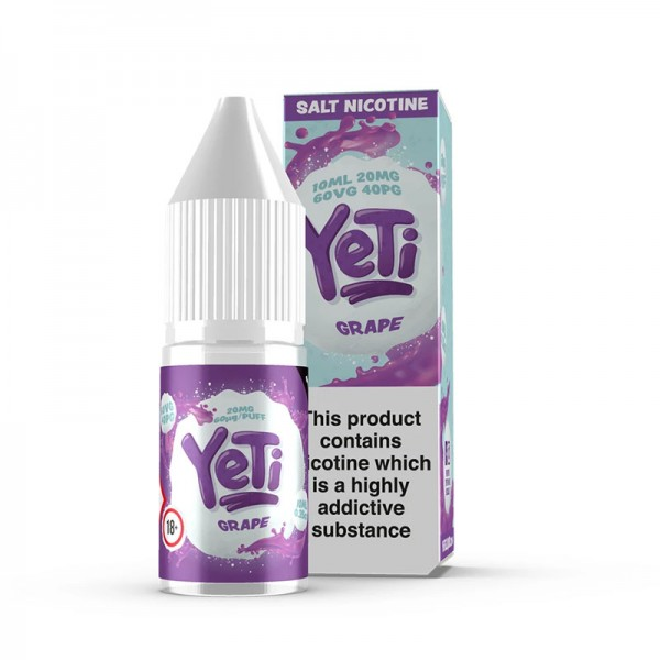 Yeti NicSalt Liquid Grape