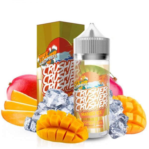 Mango Ice Liquid von Crusher ♥ Süsse Mango auf Eis ✔ 100ml Shortfill ✔ Schneller Versand ✔ Auch in unseren eZigaretten Geschäften ✔