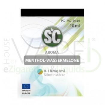 Menthol Wassermleone Liquid von SC SilverConcept