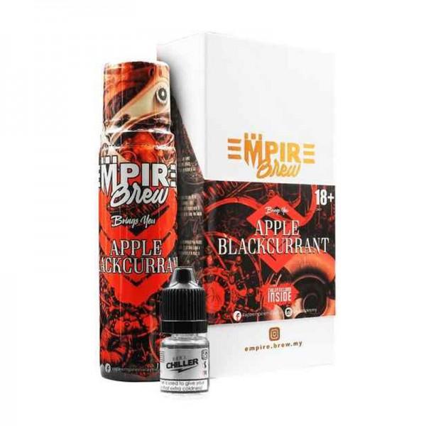 Apple Blackcurrant Liquid von Empire Brew ♥ 50ml Shortfill inkl. 10ml Chiller Shot ✔ Mix aus Apfel und Johannisbeere ✔ Wahlweise mit oder ohne Kühle ✔ Schneller Versand ✔ In unseren Shops testen ✔