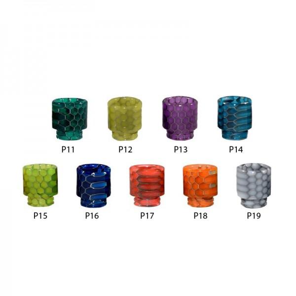 Resin Snake Design DripTip (Mundstück) ♥ Schlangenoptik ✔ 810er Anschluß ✔ Aus Resin ✔ Verschiedene Farben ✔ Auch in unseren Shops verfügbar ✔ Schneller Versand ✔