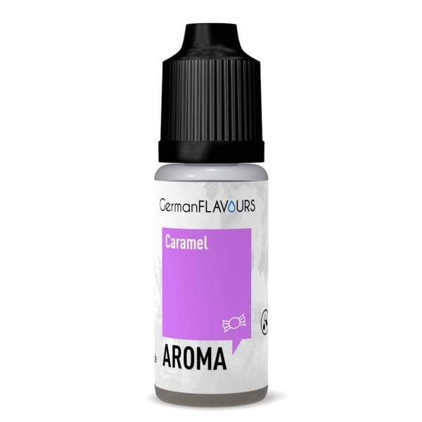 Caramel Aroma von GermanFlavours ♥ Sahne, Zucker ✔ Auch in unseren Geschäften ✔ 5% Dosierung ✔ Schneller Versand