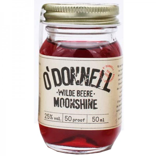 O'Donnell Moonshine Wilde Beere Shot (50ml, 25%vol.)