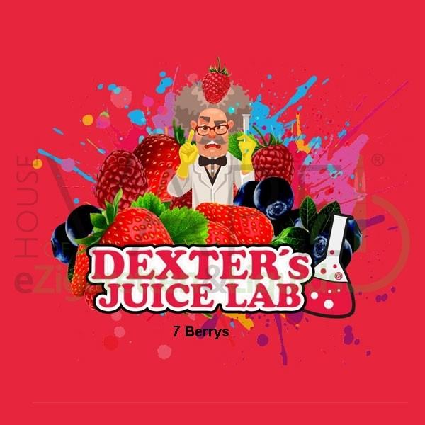 7 Berrys Aroma von Dexter ♥ Beeren, Mandarine, Minze ✔ 5-10% ✔ 10ml ✔ Auch in unseren Shops ✔
