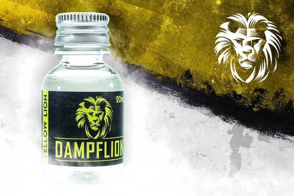 Dampflion Yellow Lion Aroma ♥ Banane, Erdbeere ✔ 12-14% ✔ 20ml ✔