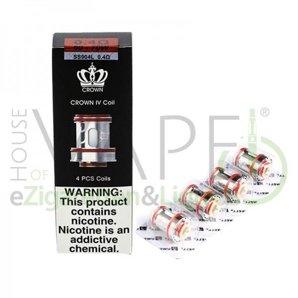 Crown 4 Kerne von UWell ♥ 4er-Pack ✔ Verschiedene Arten ✔ Auch in unseren Shops ✔ Schneller Versand ✔
