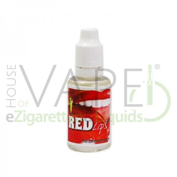 Red Lips Aroma von Vampire Vape ♥ Kirsche + Beeren ✔ 5-15% Dosierung ✔ Auch in unseren Shops ✔
