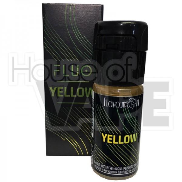 Fluo Yellow Liquid von FlavourArt ♥ Cola-Zitrone ✔ Für jede eZigarette geeignet ✔ In unseren Shops probieren ✔ Schneller Versand ✔