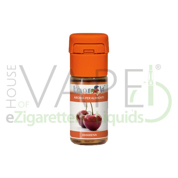 Schwarzkirsche von FlavourArt ♥ Fruchtig-süß und reif ✔ Schneller Versand ✔ 2-6% Dosierung bei 2-7 Tag Reifezeit ✔ Ab 50€ Versandkostenfrei ✔