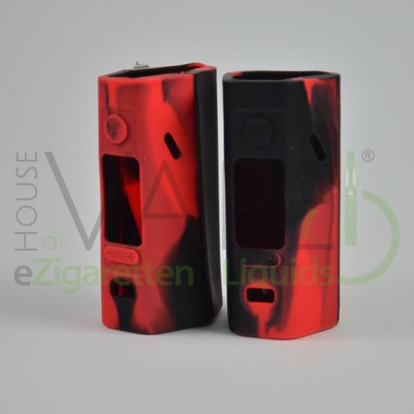 Wismec Reuleaux 2/3 Silikonhülle 2x Schwarz Rot