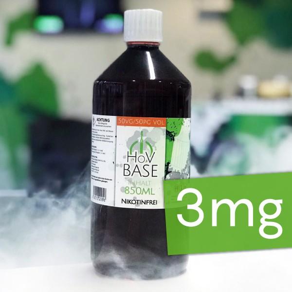 HoV Base 1000ml-Flasche 50/50 3mg Nikotin