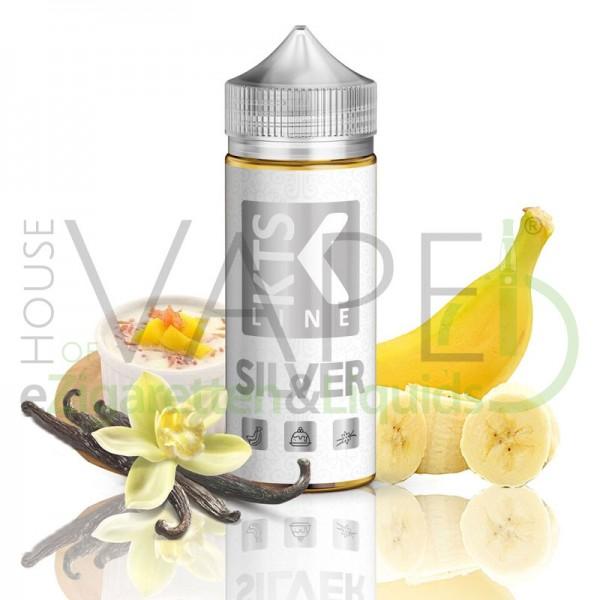 Silver Aroma von KTS ♥ Bananenpudding ✔ Longfill ✔ 30ml Aroma ✔ In der 120ml Chubby Flasche ✔