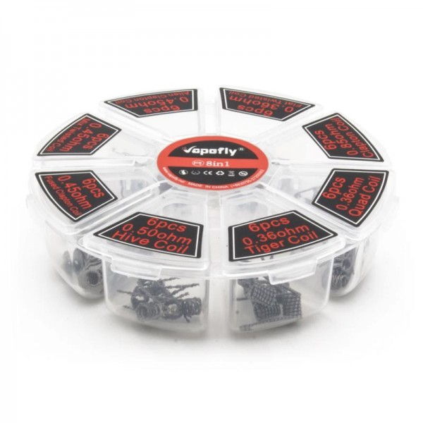 Vapefly 8 in 1 Coil Wheel 48x