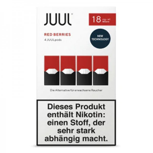 Juul Pods Red Berries 4er-Pack