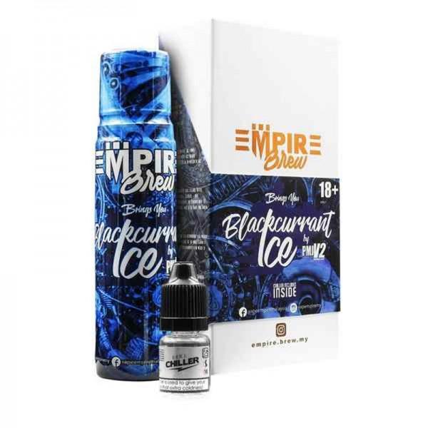 Blackcurrant Ice Liquid von Empire Brew ♥ 50ml Shortfill inkl. 10ml Chiller Shot ✔ Intensive Johannisbeere ✔ Wahlweise mit oder ohne Kühle ✔ Schneller Versand ✔ In unseren Shops testen ✔