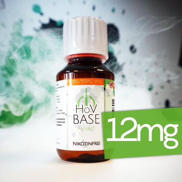 HoV Base ♥ 50/50 VG/PG ✔ 12mg Nikotin ✔ Als im Set mit Base verfügbar ✔ Schneller Versand ✔ In den Shops verfügbar ✔