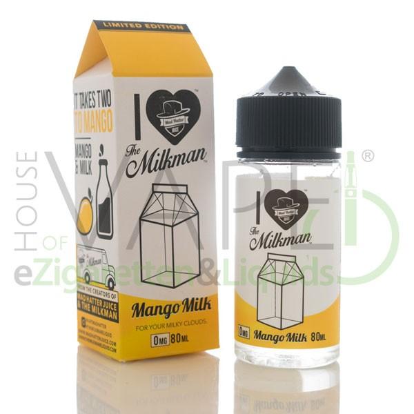 Mango Milk Limited Liquid ♥ By Milkman & Mad Hatter ✔ 80ml Shake b4 Vape ✔