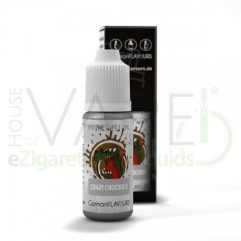 GermanFlavours Liquid Crazy Crocodile (mit Menthol)