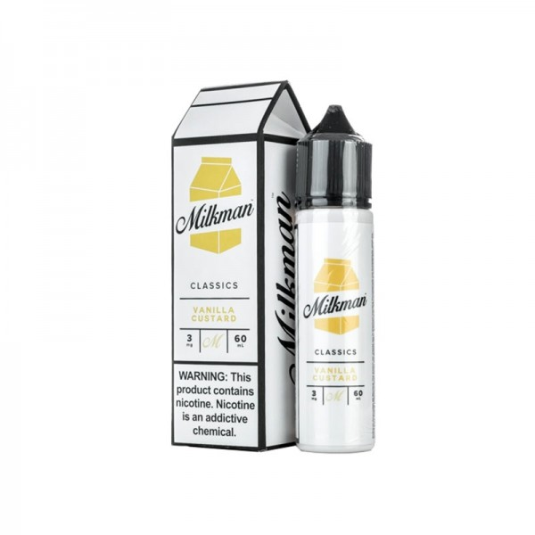 The Milkman Vanilla Custard ♥ The Vaping Rabbit ✔ 50ml Shortfill ✔ Cremiger Milchpudding mit Vanille ✔
