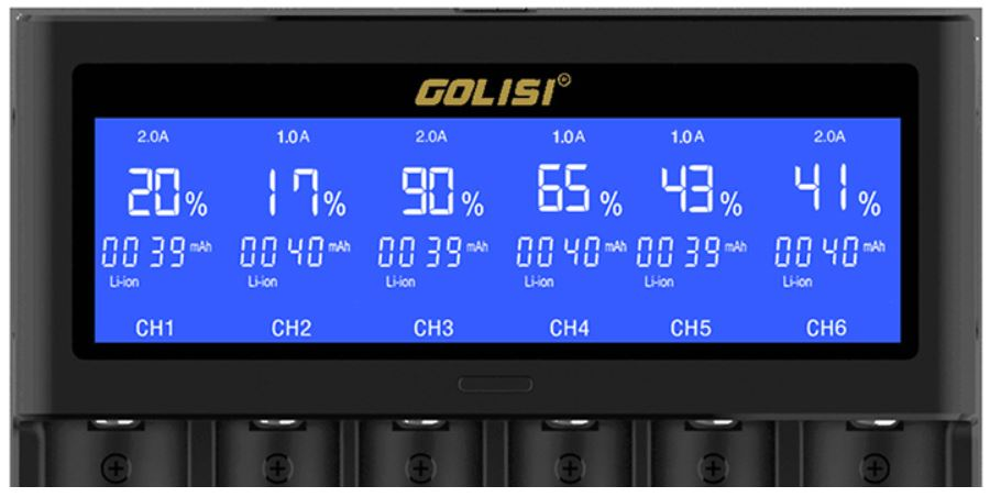 Golisi S6 mit hochauflösendem LCD-Display