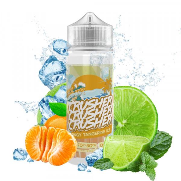 Zingy Tangerine Ice Liquid von Crusher ♥ Limette, Mandarine, Frische ✔ 100ml Shortfill ✔ Schneller Versand ✔