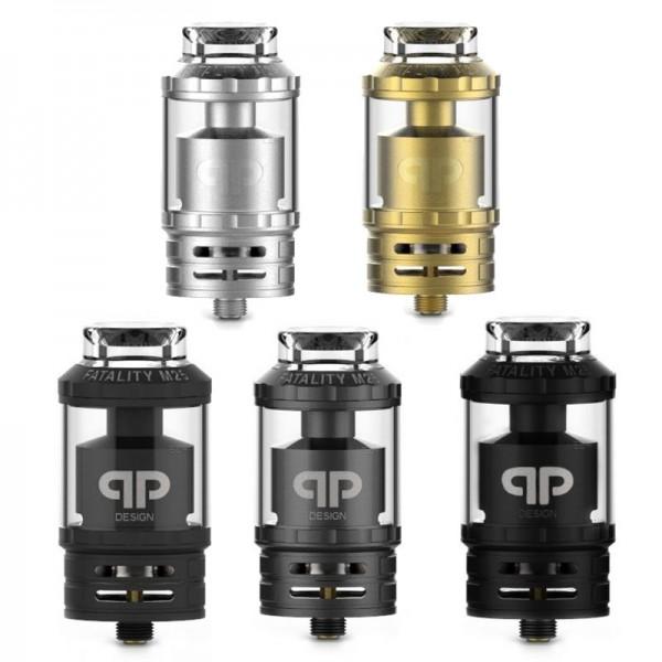 Fatality M25 RTA von QP Design ♥ Hochwertiger RTA ✔ Single- oder Dual-Coils ✔ 4,0ml- und 5,5ml -Glas ✔ TopFilling ✔ Auch in unseren Läden ✔
