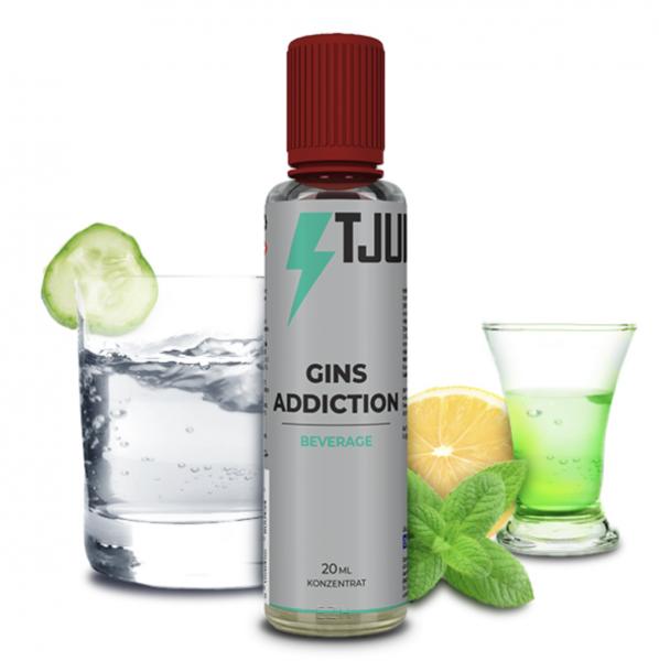 T-Juice BEVERAGE Gins Addiction - 20ml Aroma
