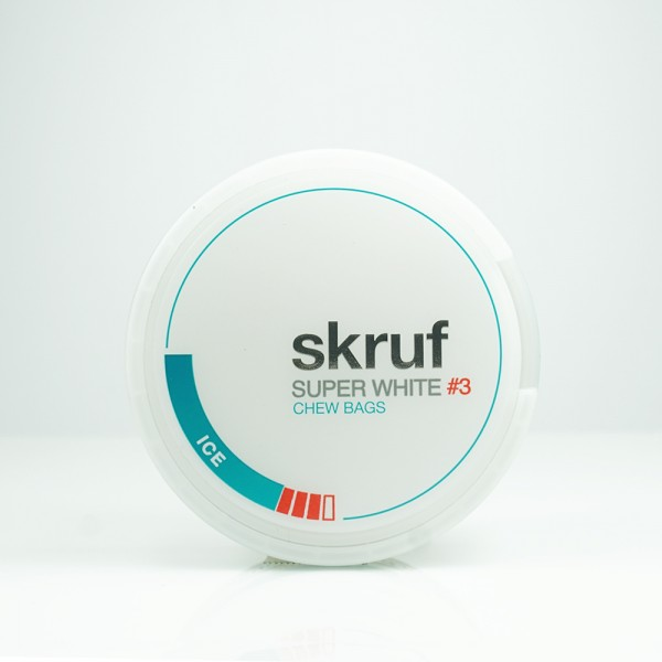 Skruf Kautabak Super White Ice #3