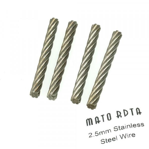 Mato RDTA Steel Wire (Edelstahldochte)