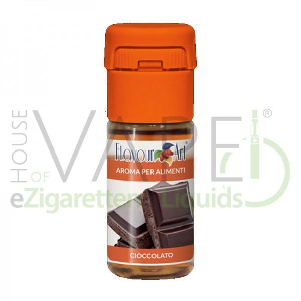 Schokolade Aroma von FlavourArt ♥ Süß ✔ Schneller Versand ✔ 2-6% Dosierung bei 5-7 Tag Reifezeit ✔