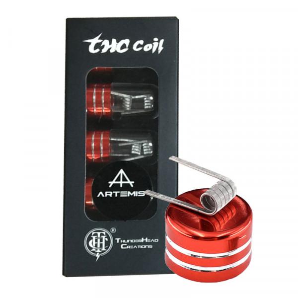 Artemis Ni80 0,25 Ohm Quadcore Fused Clapton 10er-Pack