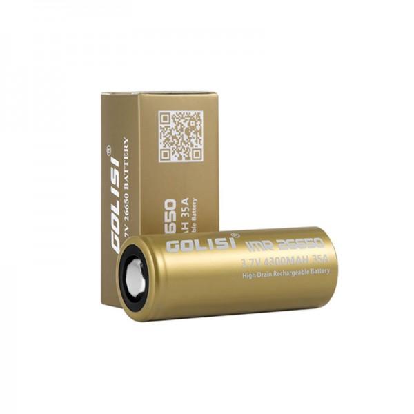 Golisi S43 Batterie ♥ 26650 ✔ 4300mAh ✔ 35A ✔ Hochleistungsakku (High Drain) ✔ In den Geschäften vorrätig ✔